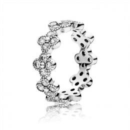 Pandora Jewelry Oriental Blossom Ring-Clear CZ 191000CZ