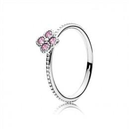 Pandora Jewelry Oriental Blossom Ring-Pink CZ 191001PCZ